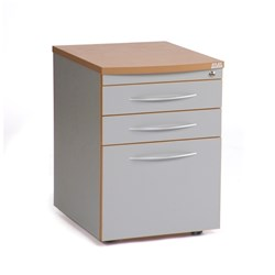E SCAPE RECEPTION COUNTER MOBILE PEDESTAL 2 DRAW + 1 FILING DRAWER