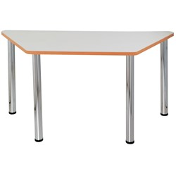QUORUM GEOMETRY MEETING TABLES TRAPEZOID 1500X750MM