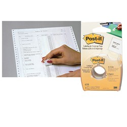 POST-IT COVER UP & CORRECTION TAPE 658 6 LINE 25.4MM