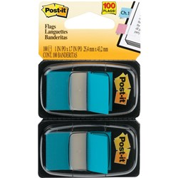POST IT FLAG TWIN PACK 680-BB2 BRIGHT BLUE