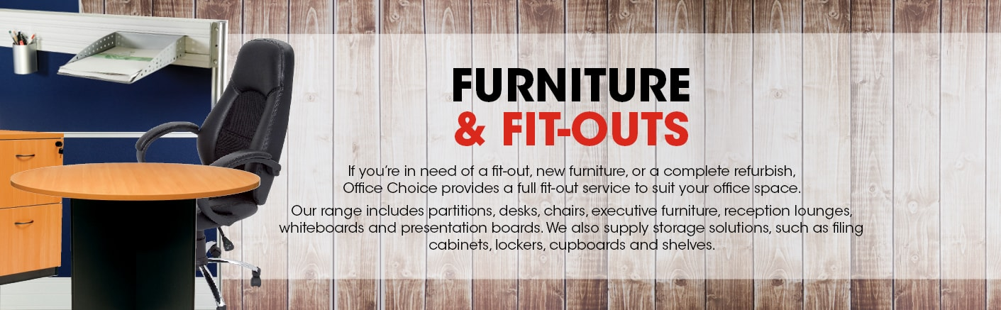 Furniture and Fit-Outs.